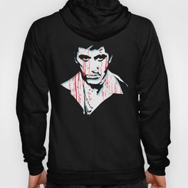 Scarface movie portrait Hoody