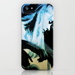 Joni Mitchell Watercolor iPhone Case
