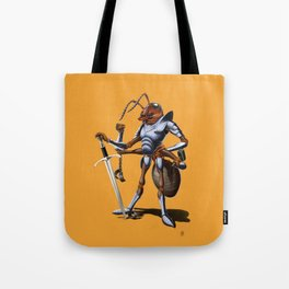 Soldiering On (colour) Tote Bag