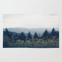 the mountain air Rug
