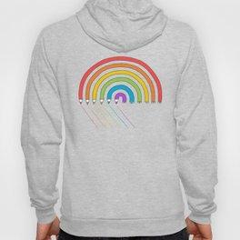 Pencil Rainbow Hoody
