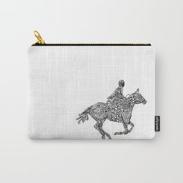 Horse Rider Carry-All Pouch