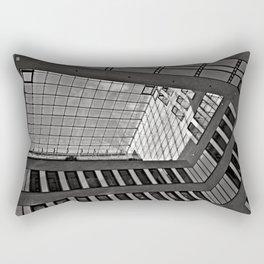 Modern Hamburg office building Rectangular Pillow