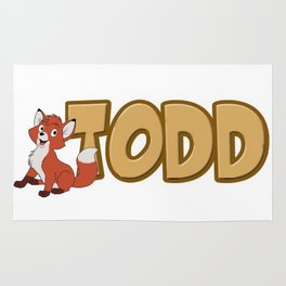 T is for Todd Rug
