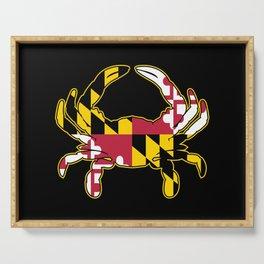 Maryland Flag Crab Serving Tray