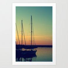 sea Puglia Art Print