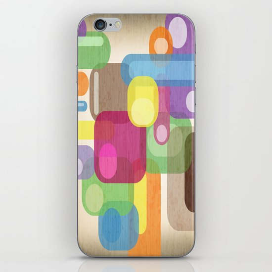 Retro Make'a Me Smile.  iPhone & iPod Skin