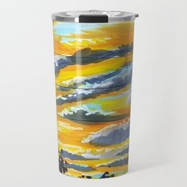 Suburban Sunset Travel Mug