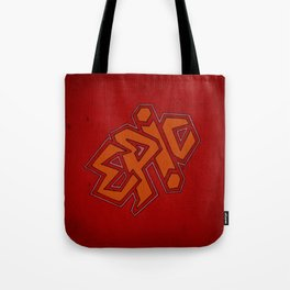 EPiC on red Tote Bag
