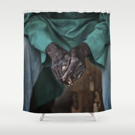 Toiled Shower Curtain