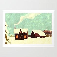 The loving home of Bunny Lebowski Art Print