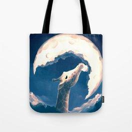 La fable de la girafe Tote Bag