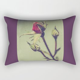 Blushing Bud Rectangular Pillow