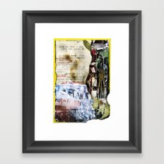 Recollections  Framed Art Print