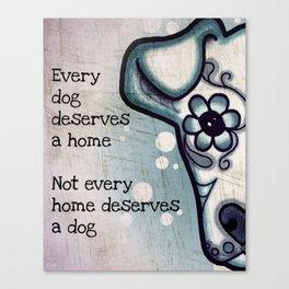 Every Dog Canvas Print