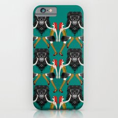 Day of the Dead damask Slim Case iPhone 6s