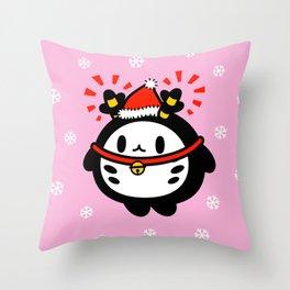 Christmas series - Bink Bink X'mas Reindeer Throw Pillow
