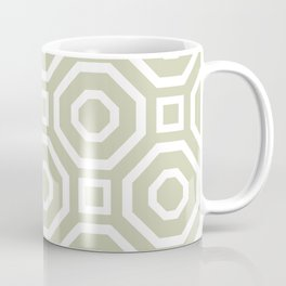 Geometry Earth Coffee Mug