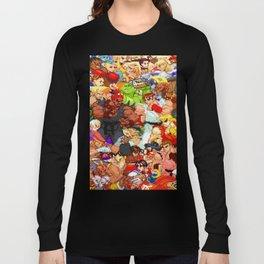 Street Fighter Alpha - Fight! Long Sleeve T-shirt