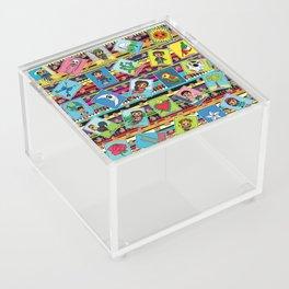Loteria Night Acrylic Box