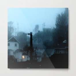 Strange Night: Ghost Light Metal Print