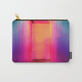 Neon Hallway (Color) Carry-All Pouch