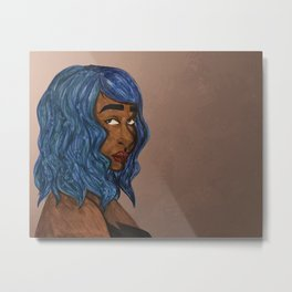 Aquarius Metal Print
