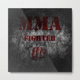 MMA Fighter Metal Print