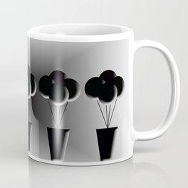 Potted Black Balloons Coffee Mug