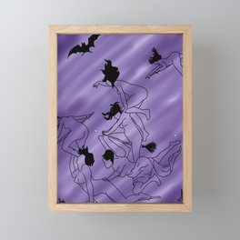 Witches Framed Mini Art Print