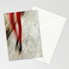 Red Hot Walking Stationery Cards