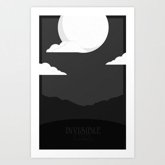Invisible Girl Art Print