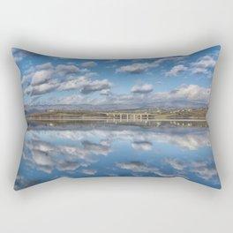 MIRROR LAKE - SQUARE VERSION Rectangular Pillow