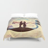 princess bride Duvet Covers featuring Princess Bride by Emmy Winstead
