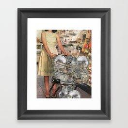(Disco)unt Supermarket Framed Art Print