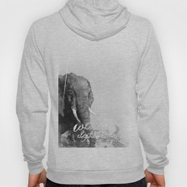 Where the Elephants Herd (Big 5) Hoody
