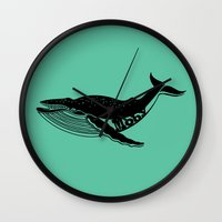 moby Wall Clocks featuring Moby by muffa