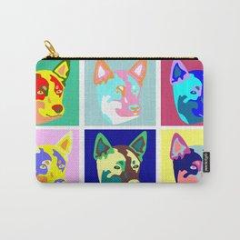 Australian Cattle Dog Pop Art Carry-All Pouch