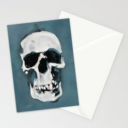 The Sherlock Skull Stationery Cards