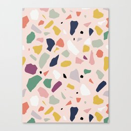 Big Terrazzo Canvas Print