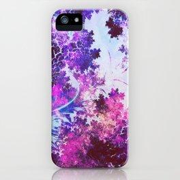 Matte Floral River iPhone Case