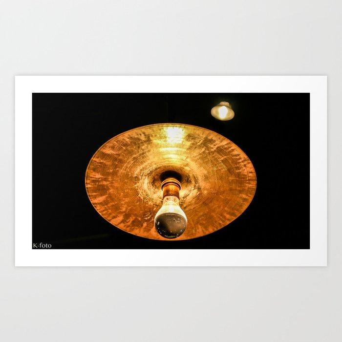Cymbal Lamp Art Print