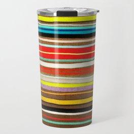 I had some strange colour lines Travel Mug