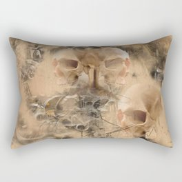 Page 34 From The Book Of The Damned by Andy Walsh Rectangular Pillow