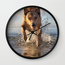 Izzy's Aloha Friday. Wall Clock
