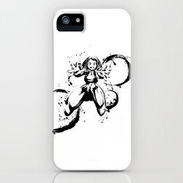 Uraraka Ochaco Ink Splatter iPhone Case