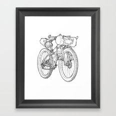 Packed Up Framed Art Print