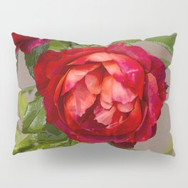 Red red rose Pillow Sham