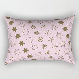 Asterisk-a-thon Pink Rectangular Pillow