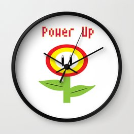 power up Wall Clock